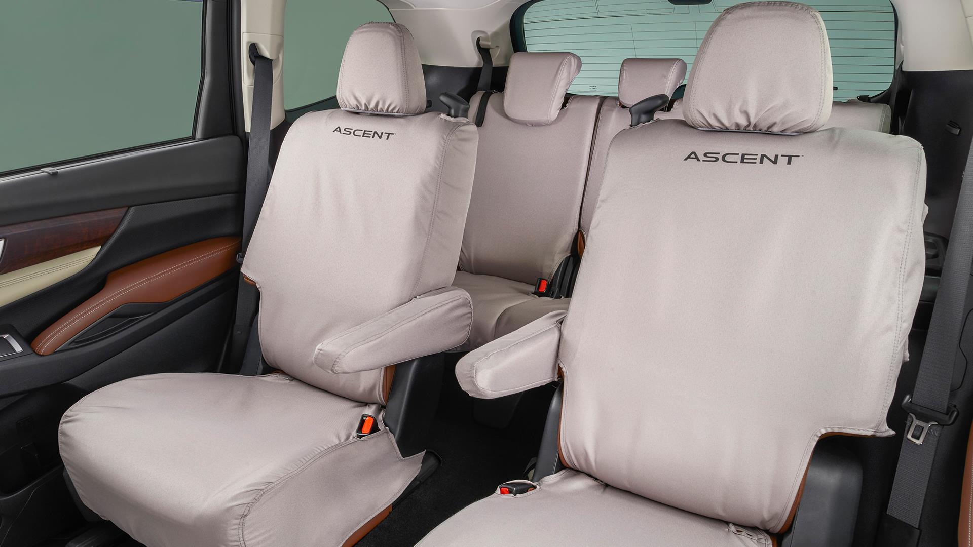 Seat Cover - 2nd Row Captain's Chairs. Keep your second row. image for your Subaru Ascent